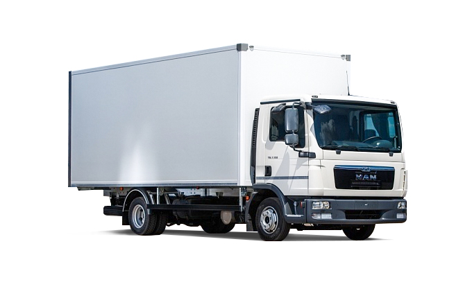 Man фургон 5 тонн
